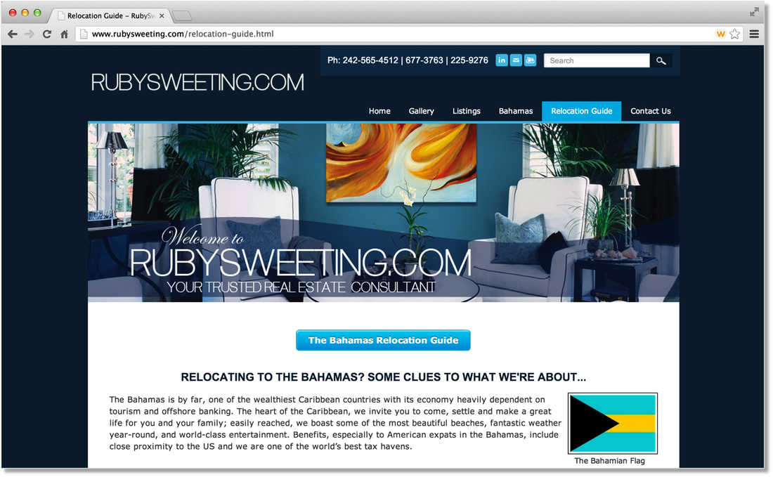 Example Sites Weebly Real Estate